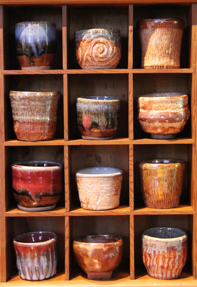 rainforest ceramics pottery cups bowls the hills emporium