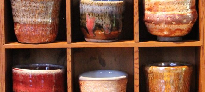rainforest ceramics pottery cups bowls the hills emporium